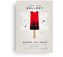 My SUPERHERO ICE POP - Hellboy Canvas Print