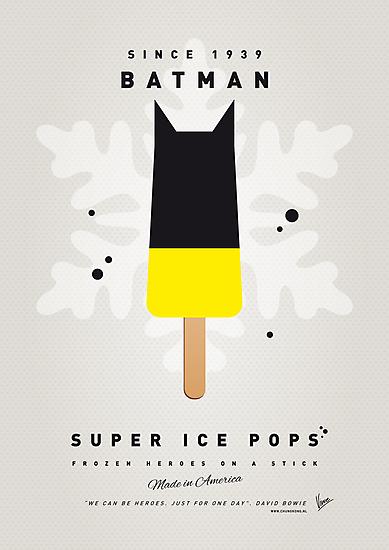 My SUPERHERO ICE POP - BATMAN by Chungkong