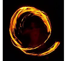 Labyrinth Call of Fire Photographic Print