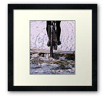 Snow Run  Framed Print