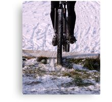 Snow Run  Canvas Print