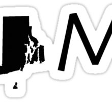 RHODE ISLAND HOME Sticker