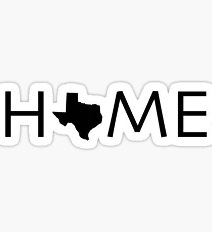 TEXAS HOME Sticker