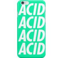 ACID - Font 2 iPhone Case/Skin
