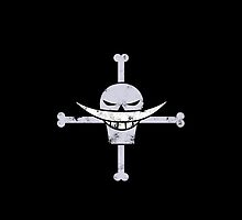 Whitebeard Pirates Jolly Roger by CraftMonsters