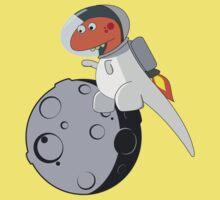 Space Dino Jetpack Solo Kids Tee