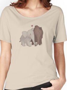 Elephant Infatuation Women's Relaxed Fit T-Shirt