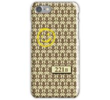 221B Sherlock Inspired Wallpaper iPhone Case/Skin