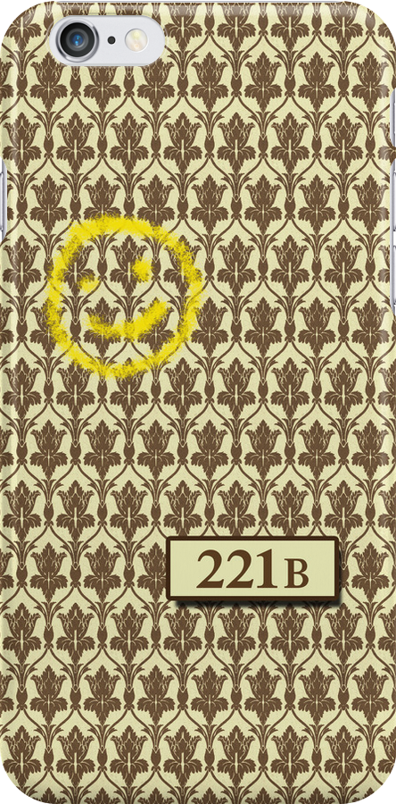 221B Sherlock Inspired Wallpaper by CraftMonsters