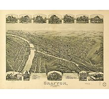 Grafton West Virginia by Fowler & Downs (1898) Photographic Print