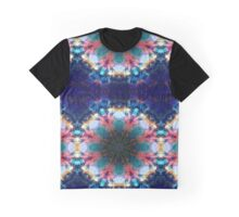 Trippy Rainbow Space Kaleidoscope Graphic T-Shirt