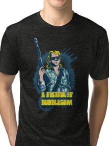 A Fistful Of Bubblegum Tri-blend T-Shirt