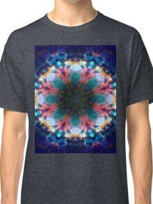 Trippy Rainbow Space Kaleidoscope Classic T-Shirt