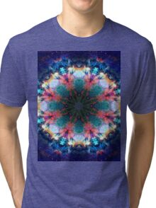Trippy Rainbow Space Kaleidoscope Tri-blend T-Shirt