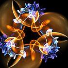 Neon Jelly Swirls by Anne Pearson