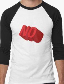 NO Men's Baseball ¾ T-Shirt