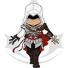 Assassins Creed 2 Chibi Ezio Auditore da Firenze by SushiKittehs
