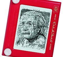 Einstein Etch-A-Sketch by Fan-Art-Int