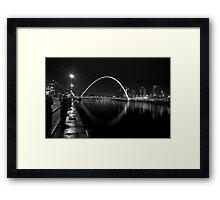 Millennium Bridge Framed Print