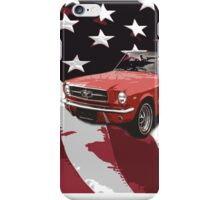 Ford Mustang, Stars & Stripes iPhone Case/Skin