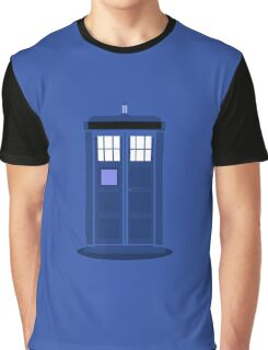 TARDIS: Time and Relative Dimension in Space Graphic T-Shirt