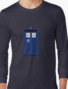 TARDIS: Time and Relative Dimension in Space Long Sleeve T-Shirt