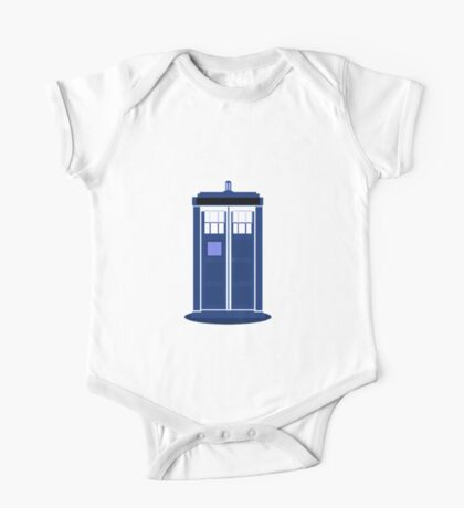 TARDIS: Time and Relative Dimension in Space One Piece - Short Sleeve