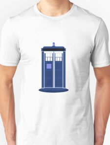 TARDIS: Time and Relative Dimension in Space Unisex T-Shirt