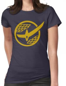 Citrus Samurai (Gold) Womens Fitted T-Shirt