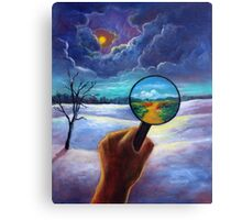 What We Choose to See Canvas Print
