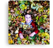 Paul in the fall Canvas Print