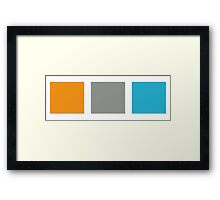 boxes Framed Print