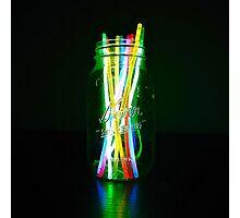 glow jar Photographic Print