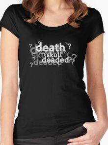 Deaded??? Women's Fitted Scoop T-Shirt