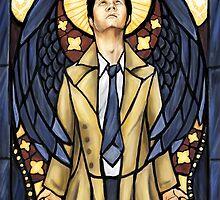 Castiel, Saint of Faith by FlyingFoxWhale