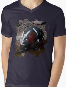 Penguin Shirt Mens V-Neck T-Shirt