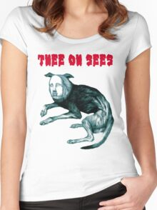 """Thee Oh Sees """"Putrifiers II"""" Women's Fitted Scoop T-Shirt"""