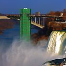 Niagara Falls, Prospect Point Observation Tower by Adam Kuehl