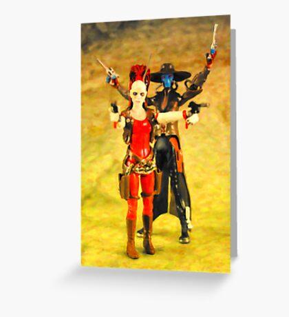 Cad & Aurra Greeting Card
