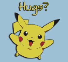 Pikachu wants hugs Kids Tee