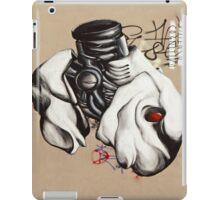 Armed Fish Grafitti Landscape iPad Cover iPad Case/Skin