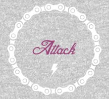 Attack - Pink One Piece - Long Sleeve