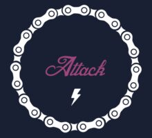 Attack - Pink Kids Tee