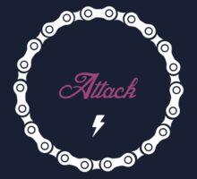 Attack - Pink Kids Tee