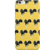 Goldenrod Puppy Pattern iPhone Case/Skin