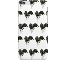 Goldenrod Puppy White Pattern iPhone Case/Skin