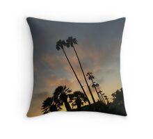 Somewhere Twilight in Redondo Beach Throw Pillow