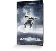 Silver Surfer - Movie Poster Greeting Card