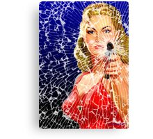 Shattered Again Canvas Print