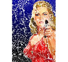 Shattered Again Photographic Print